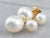 Freshwater Pearl Stud Drop Earrings