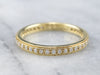 Diamond 18K Gold Eternity Band