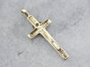 Vintage Crucifix with Diamond Detail