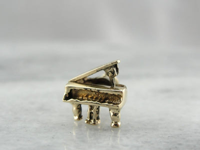 Beethoven's Grand Piano Charm or Pendant