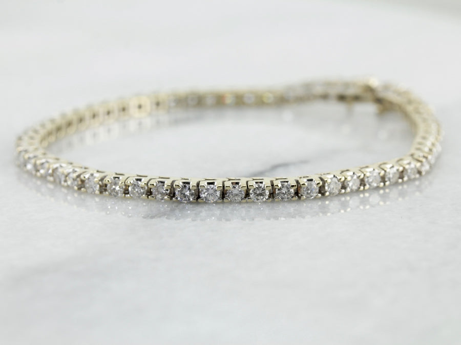 Timeless Sparkling Diamond Tennis Bracelet