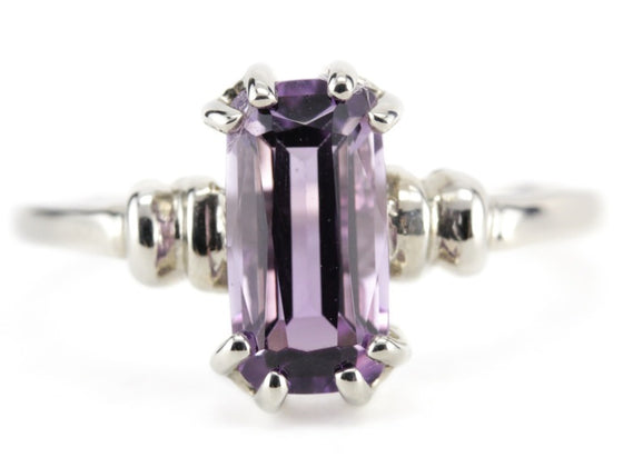 Purple Spinel Cleo Ring from The Elizabeth Henry Collection