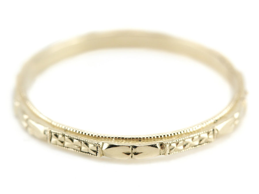The Cora Band in 14K Yellow Gold from The Elizabeth Henry Collection