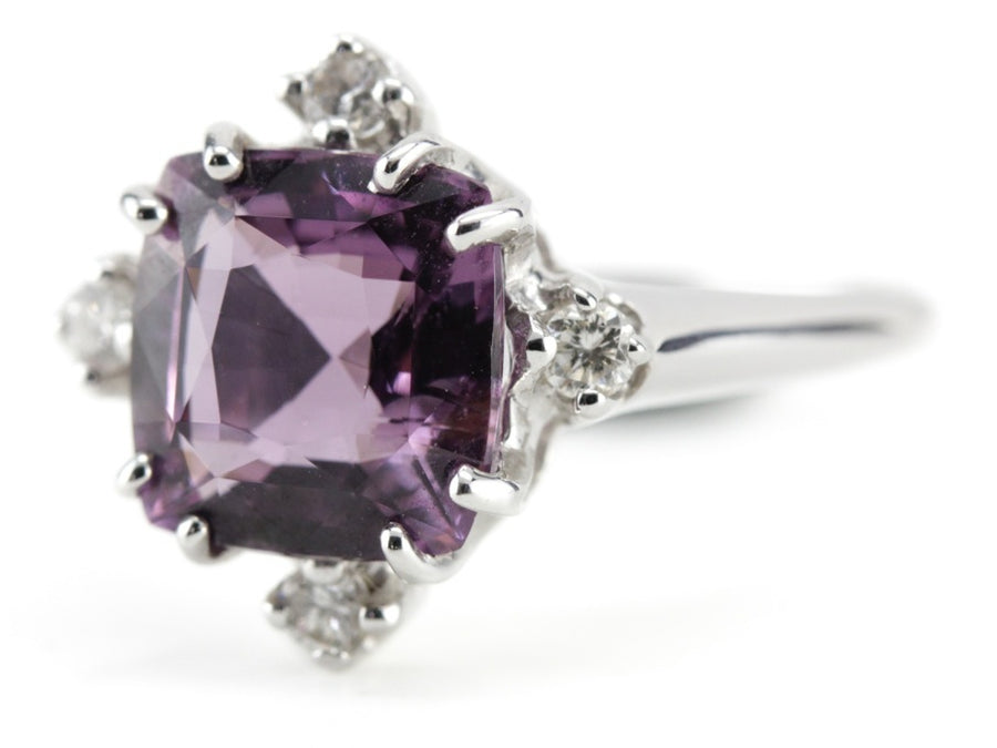 The Catherine Spinel Diamond Ring From The Elizabeth Henry Collection