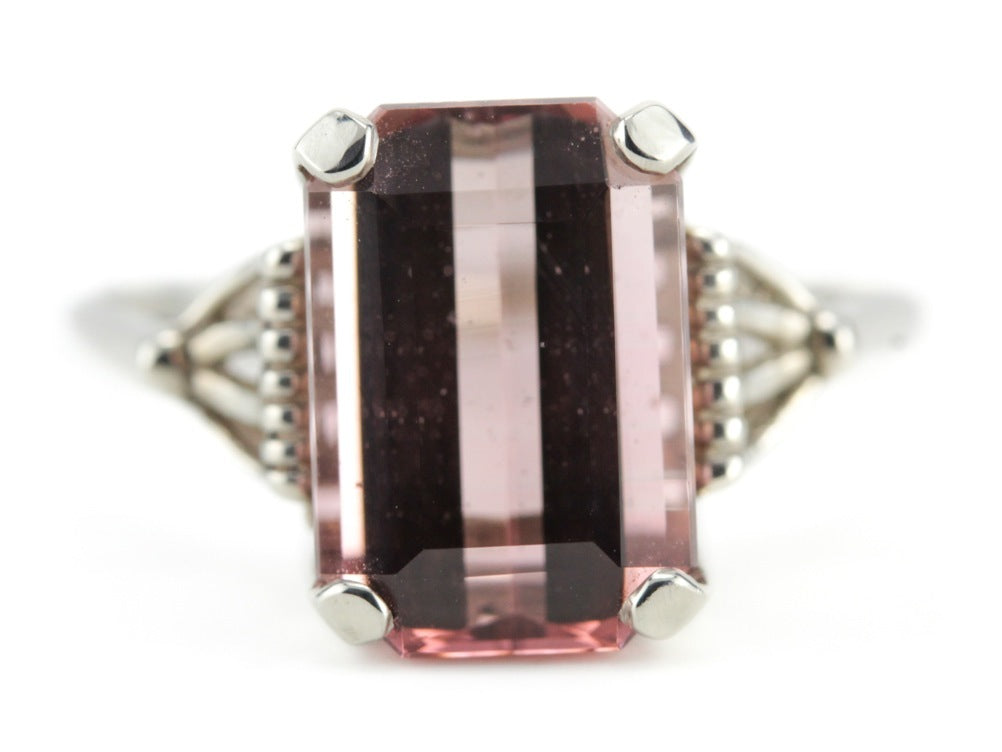 Pink Tourmaline Cocktail Ring Lucy by Elizabeth Henry