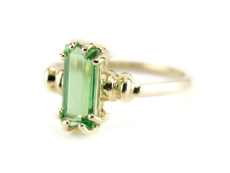 Tsavorite Garnet Cleo Ring from The Elizabeth Henry Collection