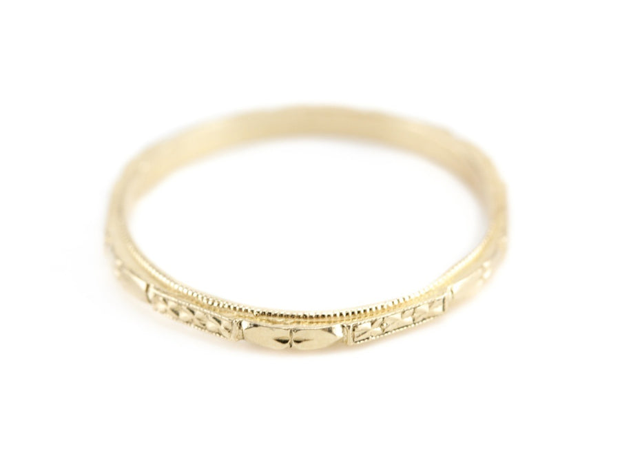 The Cora Band in 18K Yellow Gold from The Elizabeth Henry Collection
