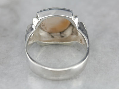 Cultured Pearl Statement Ring