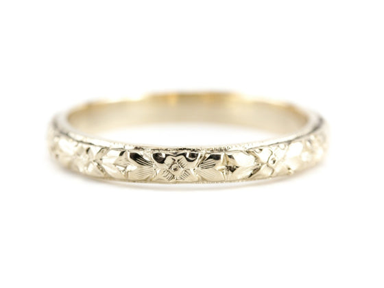 The Lillian Band in 14K Yellow Gold from The Elizabeth Henry Collection