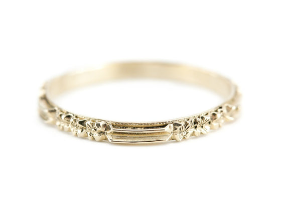 The Rosie Band in 14K Yellow Gold from The Elizabeth Henry Collection