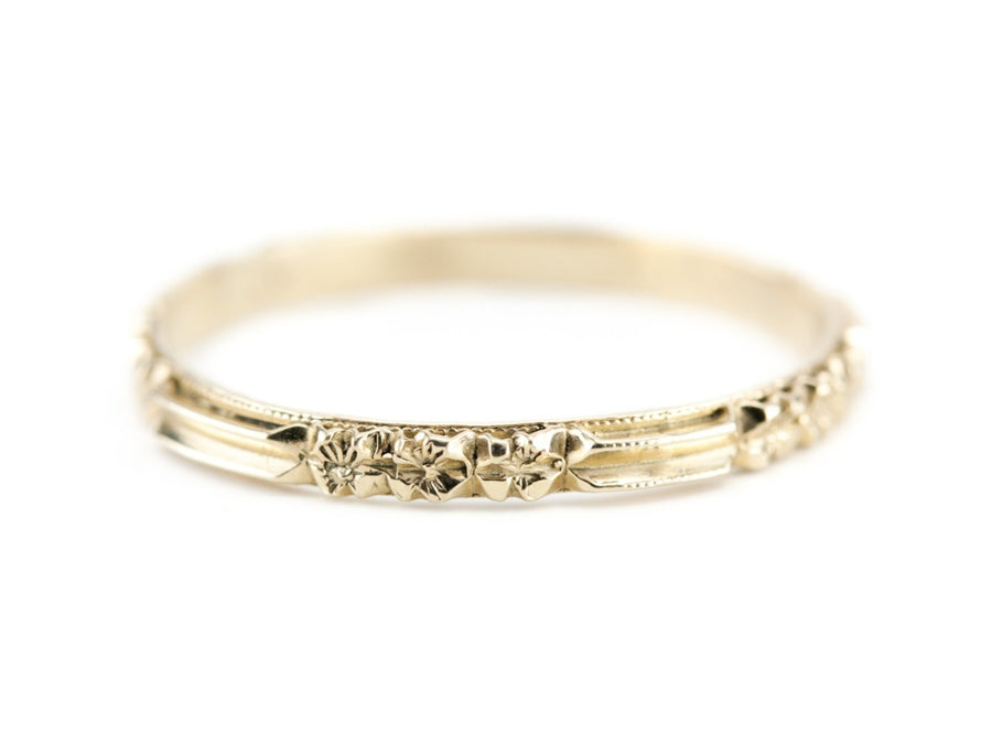 The Rosie 14K Yellow Gold Band by Elizabeth Henry
