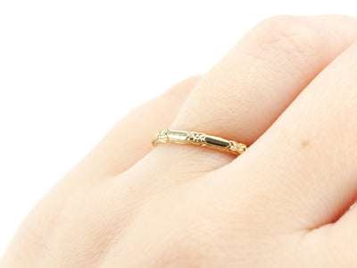 The Amelia Band in 18K Yellow Gold from The Elizabeth Henry Collection