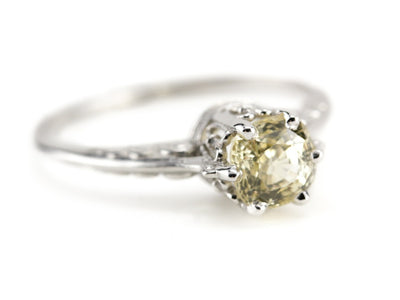 The Pannaway Yellow Sapphire Ring from the Elizabeth Henry Collection
