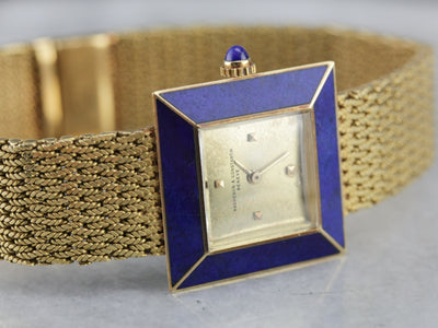 Vintage Vacheron & Constantin Modernist Gold Wrist Watch