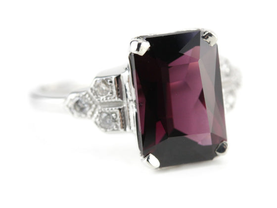 Spinel and Diamond Clara Ring from The Elizabeth Henry Collection