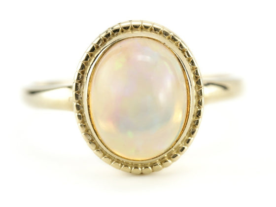 Opal Cocktail Ring, The Emma Ring from The Elizabeth Henry Collection