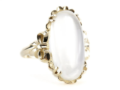 The Aurora Moonstone Statement Ring by Elizabeth Henry