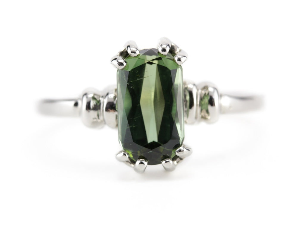 Cleo Green Tourmaline Cocktail Ring by Elizabeth Henry