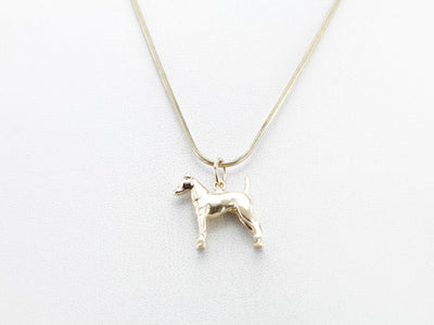 Jack Russel Terrier or Airedale Charm or Layering Pendant