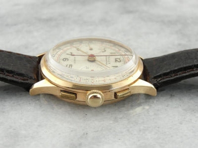 Rose Gold Dulux 1950's Rose Gold Wrist Watch