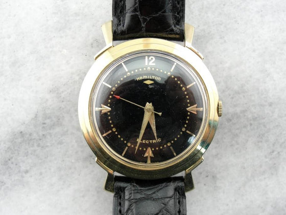 Hamilton Electric Clearview Wrist Watch from the 1960's