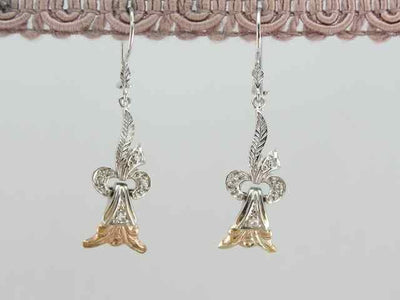 Diamond Drop Earrings from Retro Era Jewelry