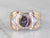 Men's Cat's Eye Sillimanite Statement Ring