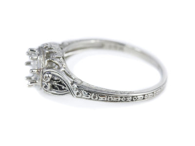 The Forrester Setting Semi-Mount Engagement Ring by Elizabeth Henry
