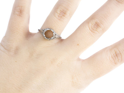 The Islington Setting Semi-Mount Engagement Ring by Elizabeth Henry