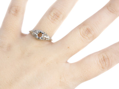 The Marcy Setting Semi-Mount Engagement Ring by Elizabeth Henry