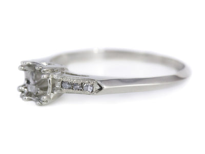 The Madbury Setting Semi-Mount Engagement Ring by Elizabeth Henry