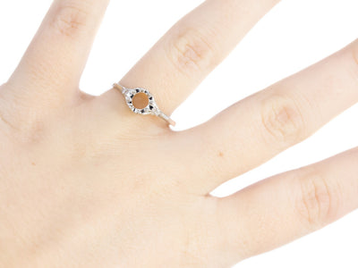 The Atwood Setting Semi-Mount Engagement Ring by Elizabeth Henry