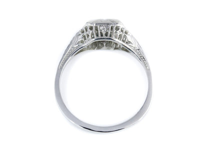 The Elwyn Setting Semi-Mount Engagement Ring by Elizabeth Henry