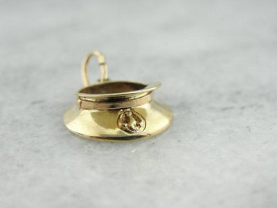 Detailed 14 KY Military Hat Charm