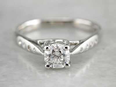 Gorgeous Diamond Engagement Ring in Platinum