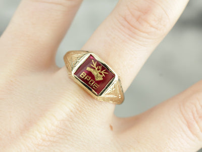 Antique Benevolent and Protective Order of Elks Ring