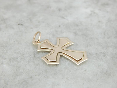 Perfectly Polished and Simply Elegant Cross