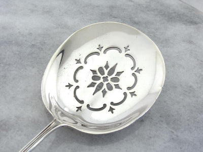 Towle 1931 Serving Spoon in Sterling Silver