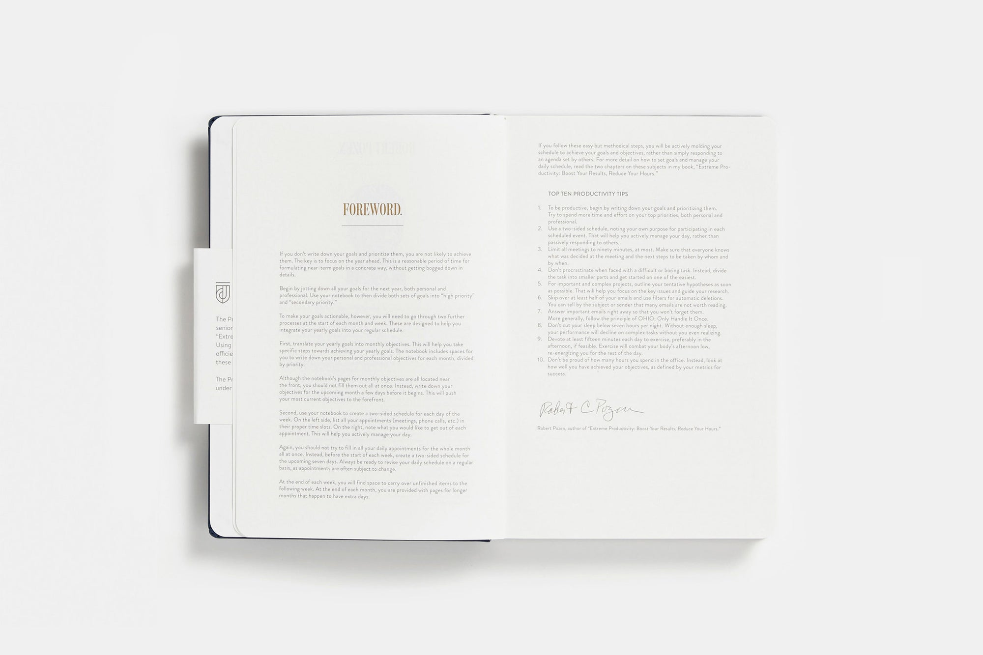 The Productive Journal The Journal Collection - Productivity planner review