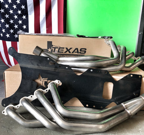 Texas Speed C7 Header system