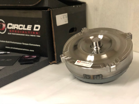 Circle D Ford 6R80 Pro Series Torque Converter 258mm