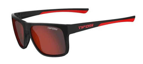 TIFOSI SWICK SATIN BLACK CRIMSON