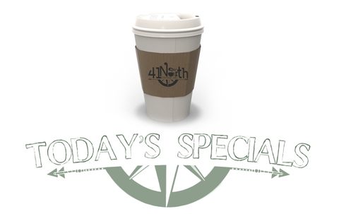 coffee shop downtown wendell, daily specials