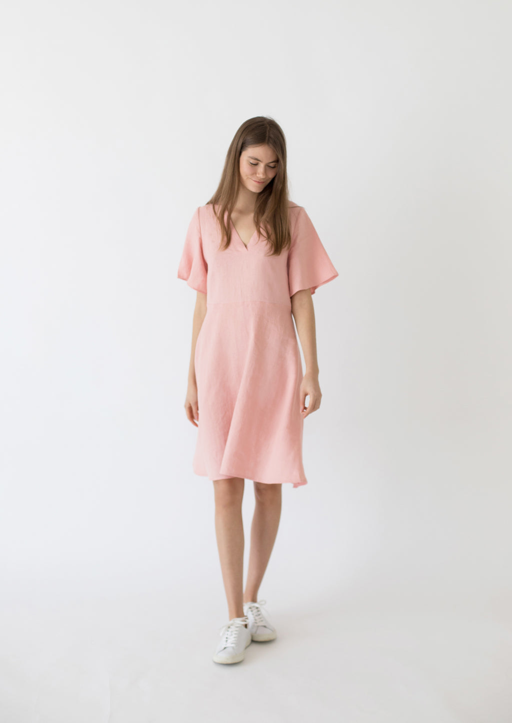 Magnolia flared dress