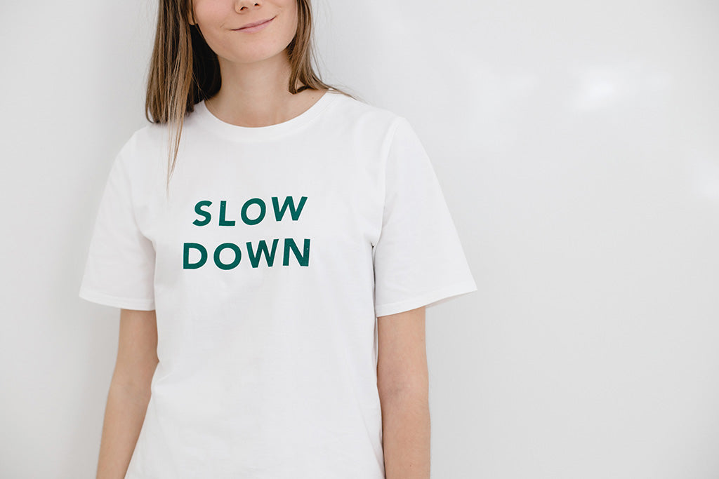 T-shirt / slow down FREE SHIPPING