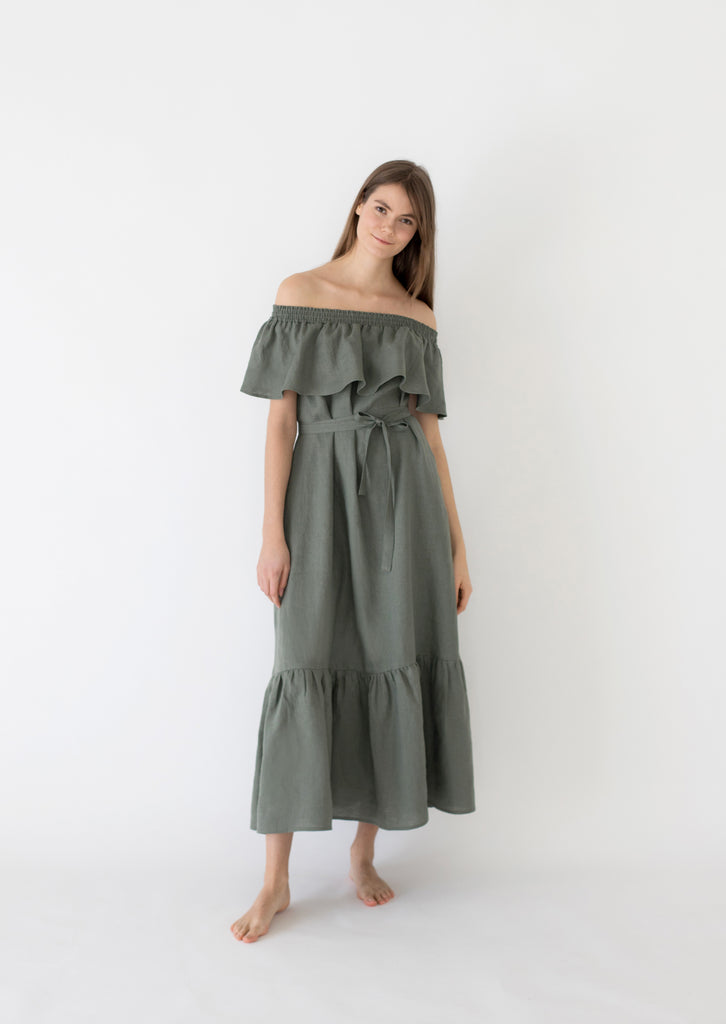PRE-SALE: Sea holly maxi dress