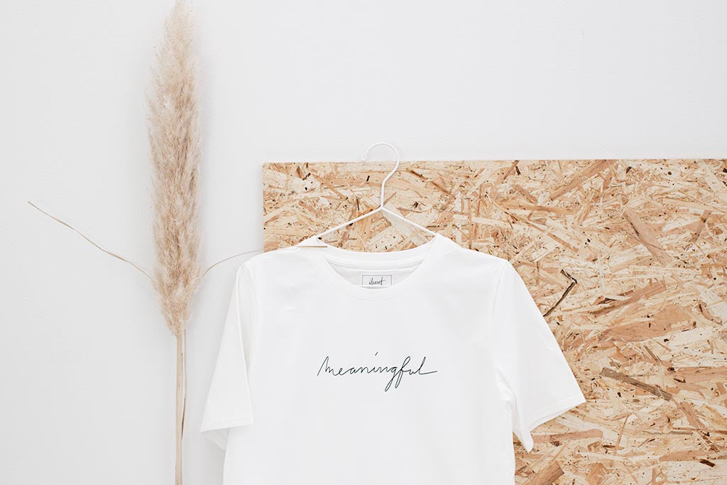 PROTO: T-shirt meaningful