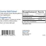 Licorice Solid Extract