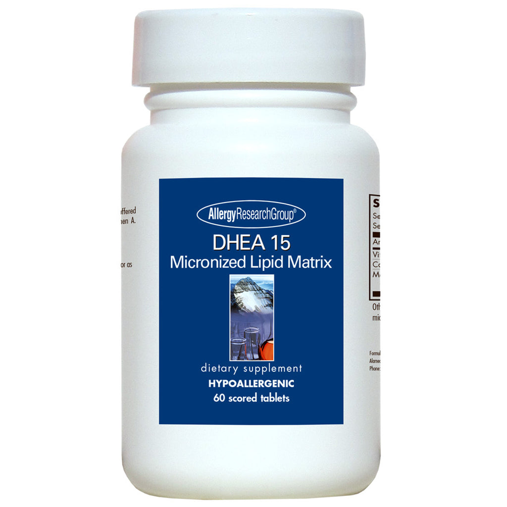 DHEA 15mg Micronized Lipid Matrix
