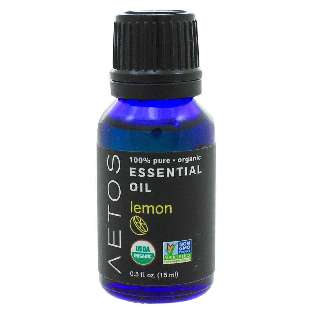 Lemon Essential Oil 100% Pure, Organic, Non-GMO